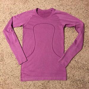 Lululemon Long Sleeve Running Shirt